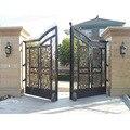 Гигантский PKM-A01 Роллинг двойной распашной ворот для ворот длиной до 18 футов 900 фунтов