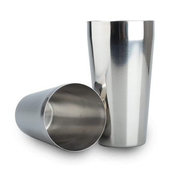 UPORS 2Pcs Boston Shaker Stainless Steel Cocktail Shaker Bartender Tools 600 450ml Cocktail Boston Shaker Cocktail Accessories фото
