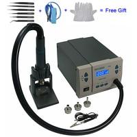 Быстрый 861DW 110 В 220 1000 Вт горячего воздуха паяльная станция Электрический паяльник CE сертификация