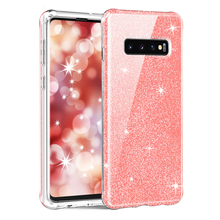 for Samsung Galaxy S10/S10 Plus Case , High-Impact TPU Rubber Bumper Shockproof Full Body Protective