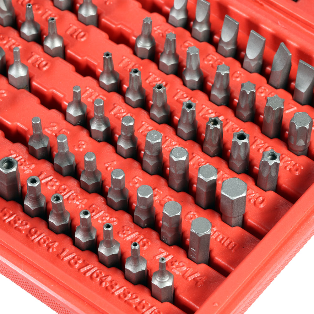 Security Tamper Proof Bit Set Torq Torx Hex Star Spanner Tri Wing Screwdriv Magnetic Holder Precision Screwdriver 100PCS 33pcs screwdriver tips security tamper proof bit set torx hex star spanner tool alloy steel nozzles bits for screwdriver tools