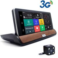 V40 7 IPS 3G Wifi Car DVR Camera GPS Navigation Bluetooth Android 5 0 With Dual