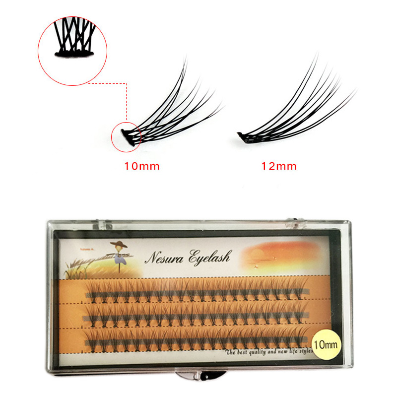 Bright Single Grafting Eyelash Eye Makeup False Individual Eyelashes  Fake Eye Lashes Makeup Extension Tools