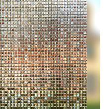 Funlife 60x200cm 3D static home decoration glass window film, privacy bedroom bathroom sticker pvc waterproof film