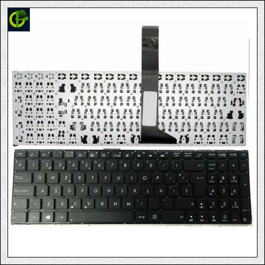 Image 1 - Spanish Keyboard For ASUS X550CA X550CL  X550LN X750L X750LA X750LB X750LN R505J  R510D R510E R510J SP Latin LA-in Replacement Keyboards from Computer & Office on