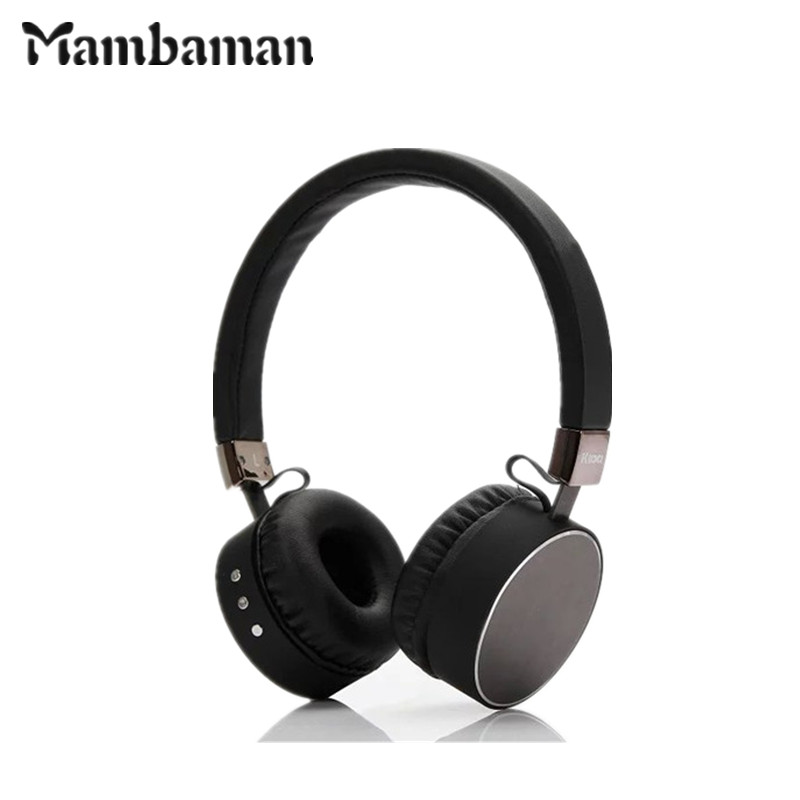 ФОТО Mambaman MBH08 wireless headphone Bluetooth Headphone with microphone Stereo earphone gaming Headset earbuds for xiaomi Phone