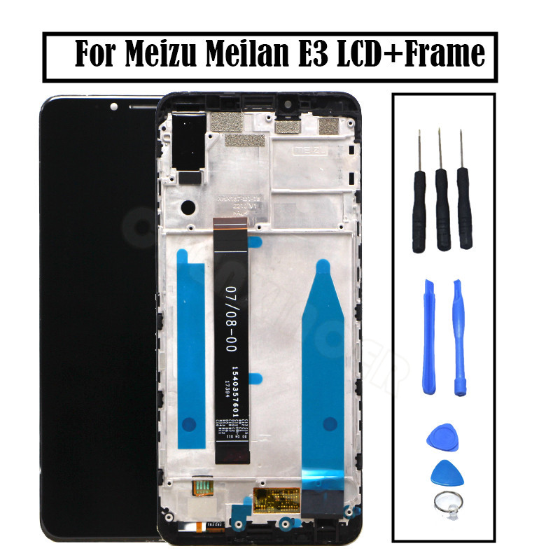 For Meizu Meilan E3 LCD Display And Touch Screen Assembly Replacement Parts With Frame For Meizu Meilan E3 free toolsFor Meizu Meilan E3 LCD Display And Touch Screen Assembly Replacement Parts With Frame For Meizu Meilan E3 free tools