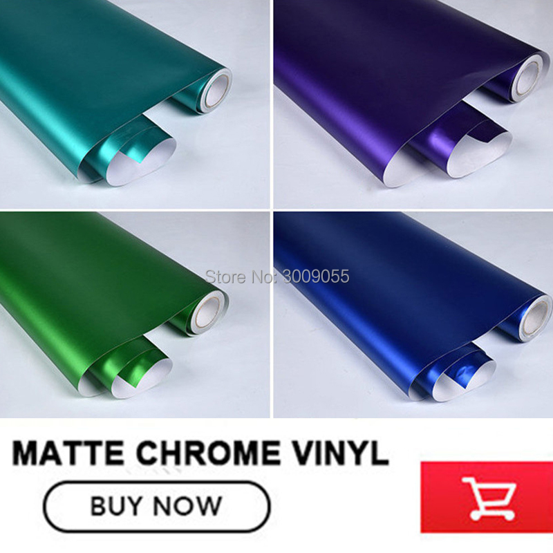 Image 4 - make small profits But quick turnove Car styling Matte Chrome Ice Vinyl Film  Matte Chrome Vinyl Wrap Auto film any size-in Car Stickers from Automobiles & Motorcycles