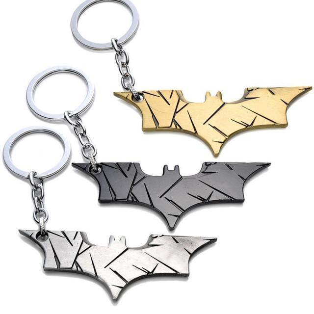 12 kiểu trang sức Siêu Anh Hùng Batman Móc Khóa Batman dụng cụ mở nắp hộp Mặt dây chuyền Siêu Nhân dây chuyền chìa khóa Truyện Tranh Hình Phụ Kiện Vòng Chìa Khóa