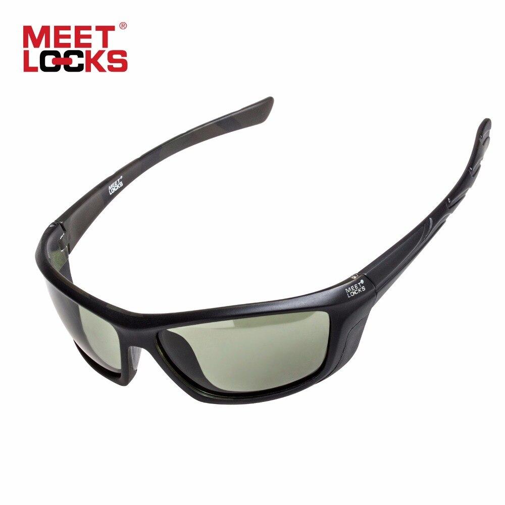 Prix pour MEETLOCKS Vélo Lunettes Polarisées Lunettes de Sport lunettes de Soleil Poly Carbonate De Cadre 100% UV Protection Des Yeux Lunettes occhiali ciclismo