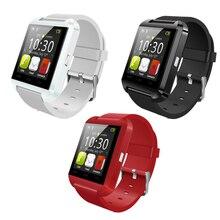 Nueva Llegada Bluetooth Inteligente Bebé Apoyo Reloj reloj Pasómetro o u8 Reloj INTELIGENTE de Control Remoto
