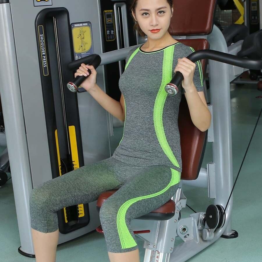 7b086f80c19 2019 Lena Gaga Yoga Sets Women Gym Clothes Yoga Set Plus Size Women ...