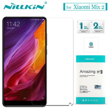 Nilkin for Xiaomi Mi Mix 2 Tempered Glass Screen Protector Nillkin 9H Amazing H / H+Pro 0.2mmGlass Film for Xiaomi Mi Mix 2