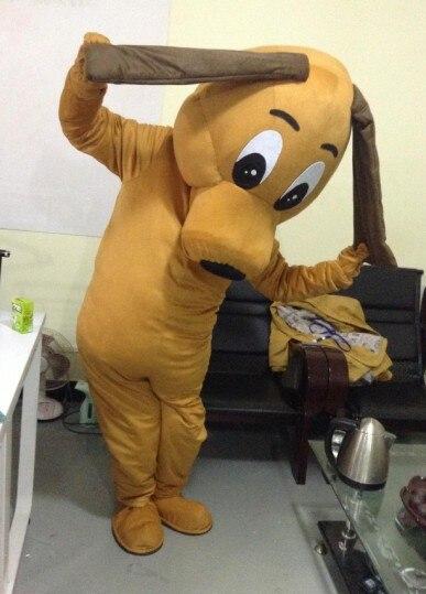 Costumes de mascotte de chien de prix spécial pour la vente adulte robe de fête d'halloween livraison gratuite