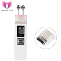 Beauty Star Ion Galvanic Microcurrent Skin Firming Machine Skin Care Wrinkle Removal Facial Massager Iontophoresis Face Clean Electric Face Cleanser