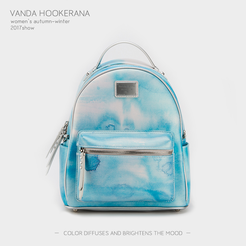 Vanda Hookerana 2017 Women Backpack Colorful Fashion Art Bags Mint Color Female Personality Trend Bags Microfiber Backpack vanda robert s delight купить