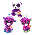 Ty Beanie Boos Original Big Eyes Plush Animal Panda & Giraffe Toys