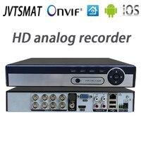 jvtsmart AHD DVR 4Channel 8Channel Video Recorder 5in1 CCTV AHD CVI TVI Analog IP Hybrid Security DVR 1080P 1080n NVR 4CH 8CH xm