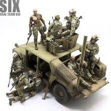 Resin Models Figures-Kits Navy Seal Unpainted Six-Team US 35Y1641 35Y1641
