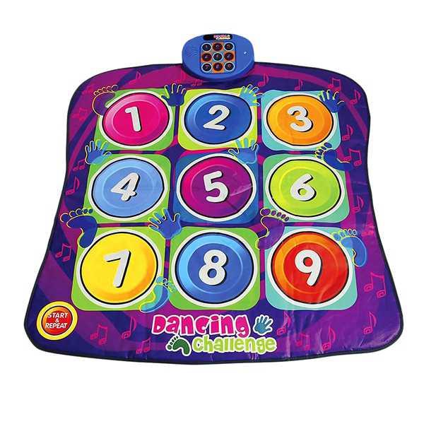 Jouet danse défi enfants éducation précoce Puzzle jeu couverture