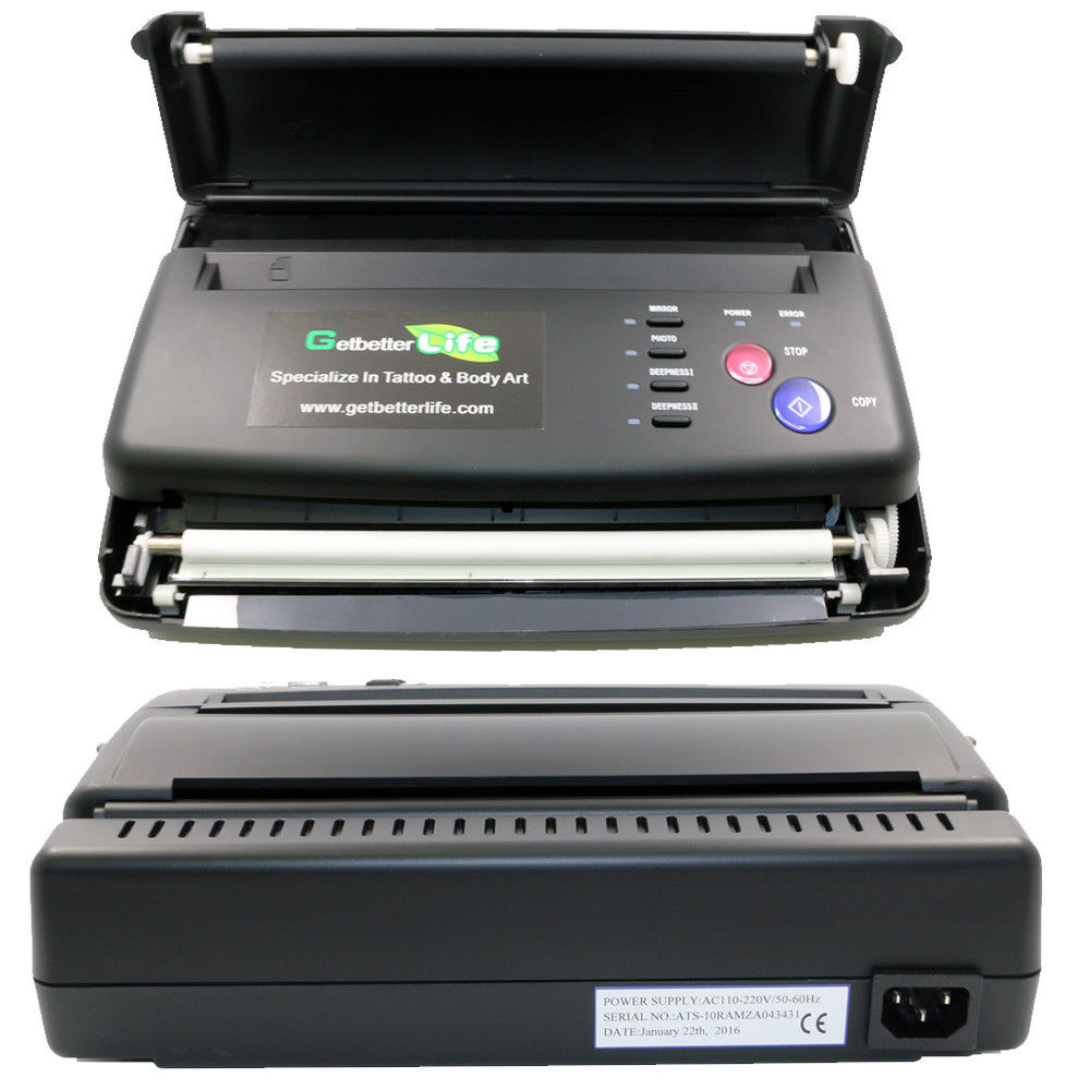 Complete Tattoo Kits Professional Tattoo Stencil Maker Transfer Machine Flash Thermal Copier Printer Thermal Stencil Paper Maker моноблок msi pro 20et 4bw 096ru black 9s6 aa8b11 096 intel celeron n3160 1 6 ghz 4096mb 1000gb dvd rw intel hd graphics 19 5 1600x900 touchscreen windows 10 home