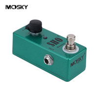 MOSKY SHO Booster Mini Guitar Effect Pedal With One Single Knob And True Bypass Switching