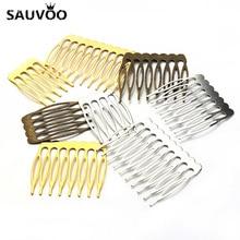 Фотография 10pcs/lot Antique Gold/Rhodium/Bronze Plated Bridal Hairpins Hair Combs Accesorio Pelo Alambre for Wedding Hair Pins Accessories