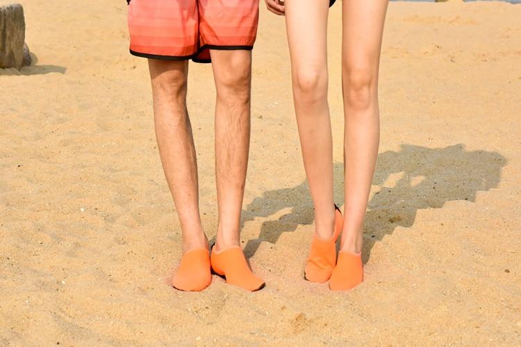 Men Women Aqua shoes Anti Slip Beach Shoes (41)
