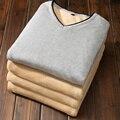 Весна мужской свитер кашемировый свитер тонкий с Корейской мужской подростки В Шею Свитер толстый свитер пальто