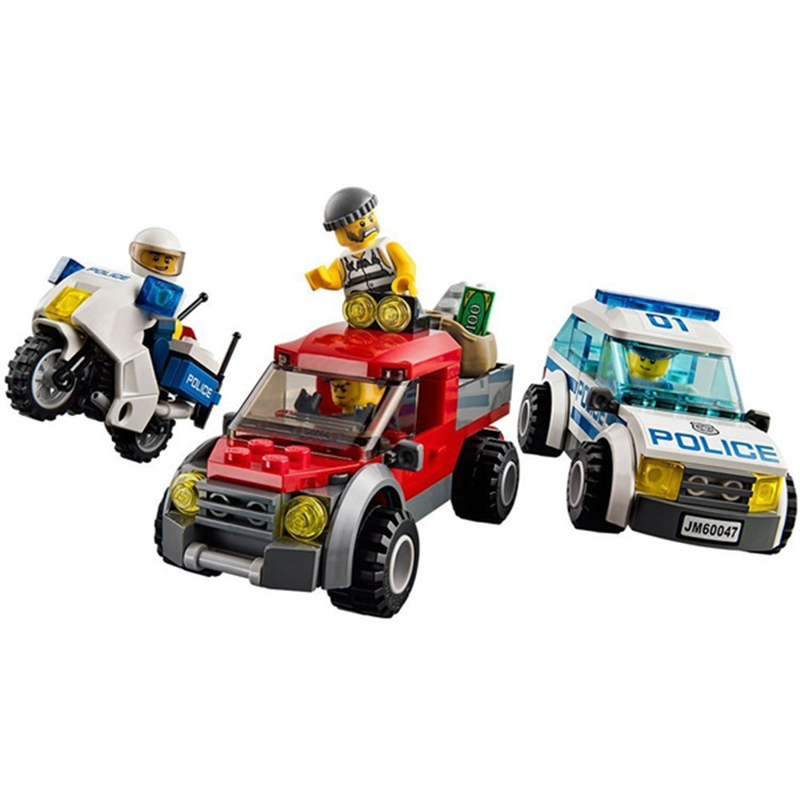BELA 10424 Compatible avec Legoings ville poste de Police 60047 bloc de construction modèle policier jouets éducatifs pour les enfants - 4