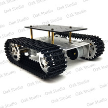 Mini T10 Smart Tank Car Chassis Tracked Caterpillar Crawler Robot Platform for DIY Arduino