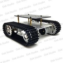 Mini t10 tanque inteligente chassi do carro lagarta plataforma robô rastreador caterpillar para diy arduino
