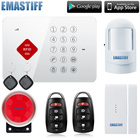 Factory S3B Android ISO App Wireless GSM Home Alarm System SIM Smart Home Burglar Security Alarm System Kit better than G5 alarm