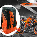 2017 saco de ombros mochila equitação da motocicleta ktm preto orange