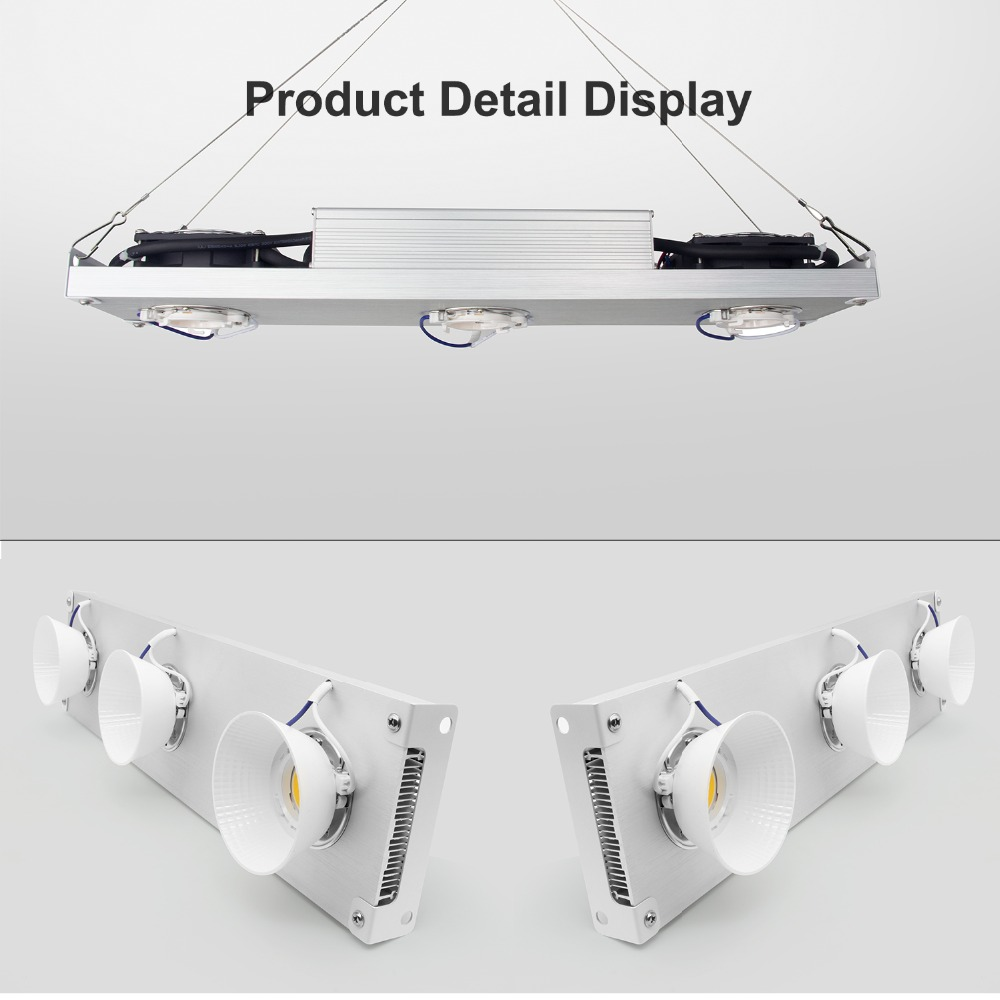 Dimmable CREE CXB3590 300W COB LED Grow Light Full Spectrum Vero29 Citizen LED Growing Lamp Indoor