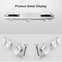 Dimmable CREE CXB3590 300W 400W COB LED לגדול אור ספקטרום מלא Vero29 אזרח LED גידול מנורה מקורה צמח צמיחת תאורה