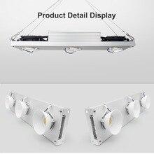 Luz LED COB de espectro completo, lámpara LED de crecimiento de planta de interior, CXB3590, 300W, 400W