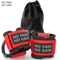NO PAIN NO GAIN Wrist Support Sport Bandage Hand Sport Wristband Gym Support Wrist Fitness Protective With Steel Hooks DGZLD