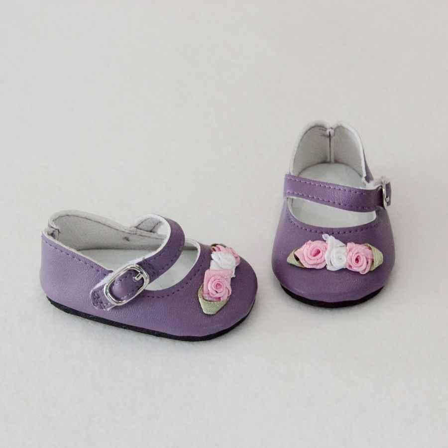 1 çift Moda 7 cm Mini Oyuncak Çiçek Ayakkabı Için 18 Inç Nesil Amerikan Kız Bebekler Için 1/3 bilyeli mafsal Bebek aksesuar Ayakkabı