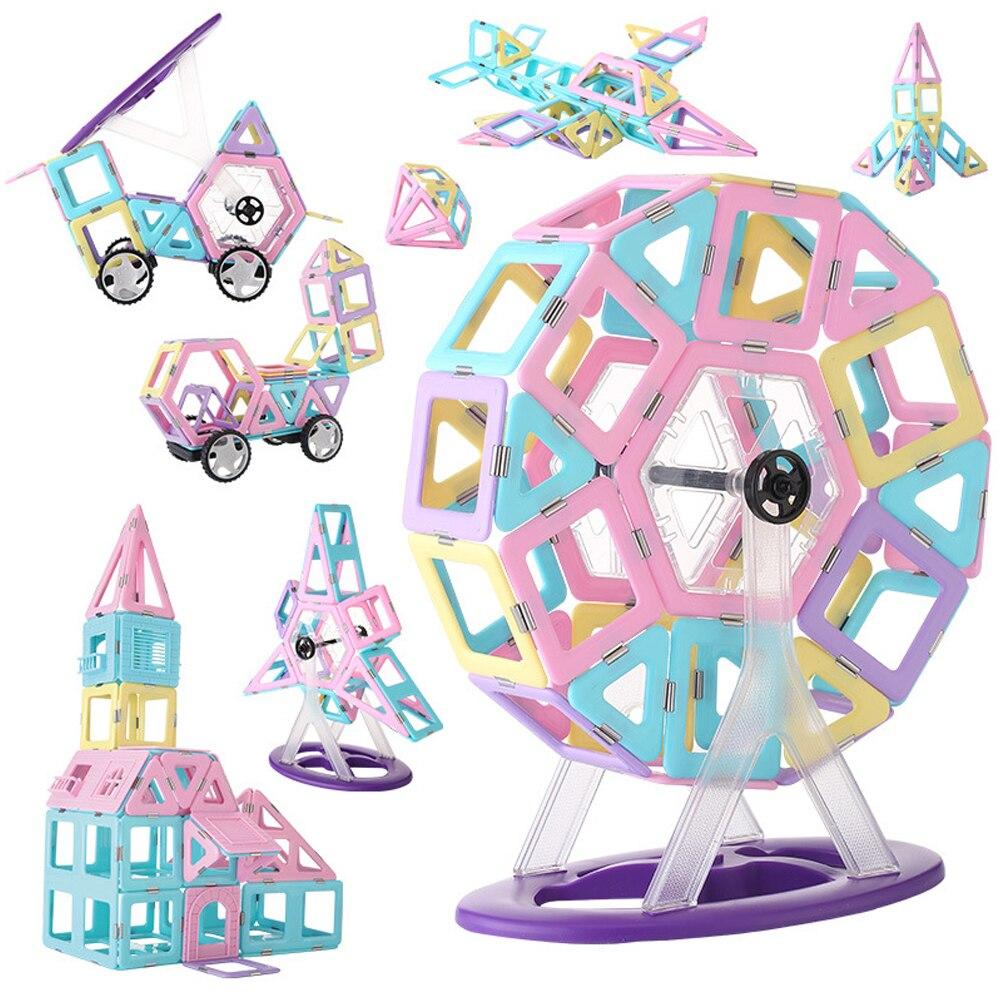 1 Stücke Große Größe Magnetische Blöcke Modellierung & Gebäude Bau Designer Eis Farbe Magnet Spielzeug Für Kinder Kinder Geschenke