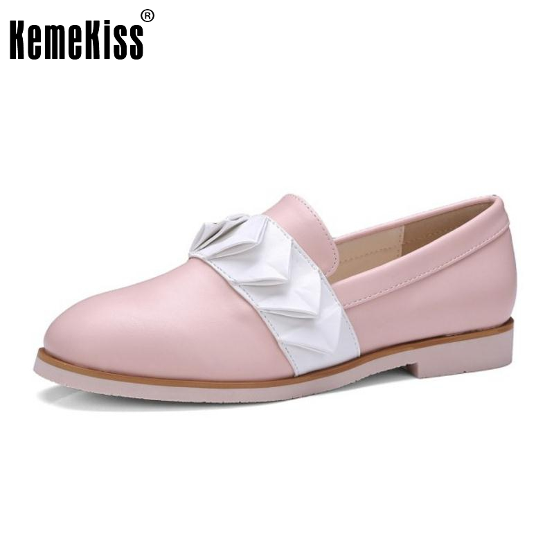 Fashion Women Flat Shoes Ladies Classic Slip-On Round Toe Flats Casual Comfortable appliques Mixed Color Shoes Size 35-40
