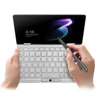 8.4 IPS Screen One Mix3 Pocket Laptop Intel Core M3 8100Y Dual Core Yoga Laptop Window10 8GB DDR3 256GB PCI E SSD WIFI Notebook
