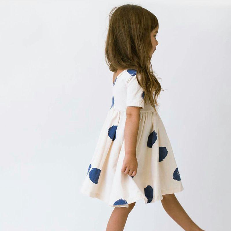 Summer Kids Clothes Girls Dress Baby Robe Fille Tiny Cotton Short Sleeve Casual Dress Deguisement Enfant Vestido Cinderela robe cleopatre deguisement