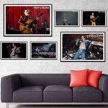 Harry Styles Poster Singer Star Album Music Live Posters and Prints Canvas Painting Wall Art Print for Living Room Home Decor(China)
