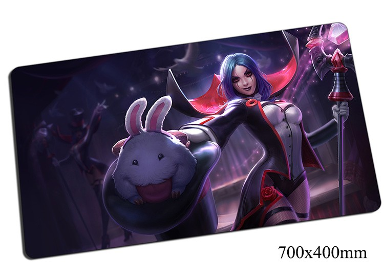 LeBlanc mouse pad 700x400x2mm gaming mousepad gear lol gamer mouse mat pad Deceiver game computer new mouse play mats