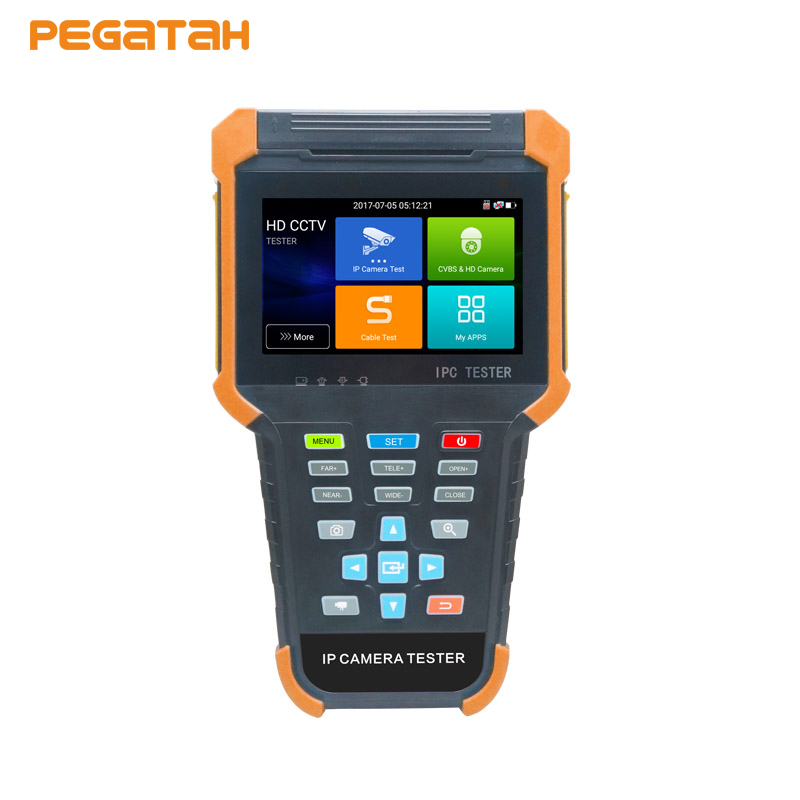 все цены на 4 inch Touch Screen 4K IP Tester 8MP TVI/CVI 5MP AHD1080P EX-SDI/SDI IP CVBS 6 in 1 CCTV tester with RJ45 cable TDR test, wifi онлайн