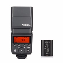 Godox V350S 2.4G Master/ Slave Camera TTL Wireless Flash Speedlite 1/8000s HSS Built-in Battery w/Battery Charger for Sony