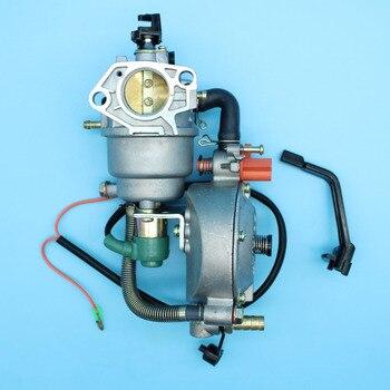 7bfe12bd929b Palanca del Estrangulador del carburador Kit de conversión para Honda GX390  GX340 188F 190F 13HP 5KW generador de gasolina combustible Dual GLP GN  GNC  ...