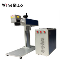 Laser Marking Machine Portable Fiber Marking Engraving Machine On Metal Silver Gold With Cheap Price Raycus
