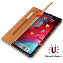 עבור iPad פרו 11 מקרה מיקרופייבר Tablet מקרה עם עיפרון חריץ 2018 Funda Slim חכם כיסוי עבור iPad 11 אינץ מקרה מגנטי Ultra